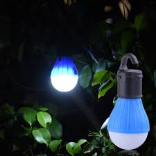 3 leds outdoor camping tent hanging