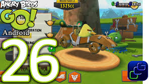 Angry Birds GO! Android Walkthrough - Part 26 - STUNT: Track 3 ...