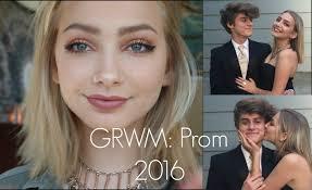 grwm prom 2016 hannah blair