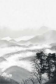 الرياح الحبر نهر الجبل بحر من الغيوم زن بحر من الغيوم خلفية