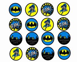 Batman Free Printable Mini Kit Invitaciones De Batman