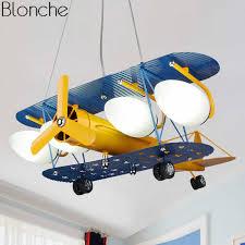 Nordic Plane Pendant Lights Modern Led Hanging Lamp For Children S Room Bedroom Boy Kids Gift Ceiling Fixtures Home Loft Decor Pendant Lights Aliexpress