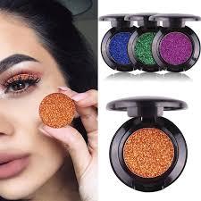 miss rose single glitter eyeshadow