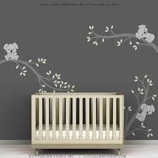 Kids Room Decal Decor Baby Nursery Modern Grey Baby Room Colors Baby Girl Room Decor Nursery Wall Decor Boy