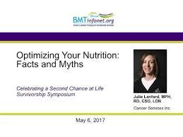 nutrition after transplant bmt infonet