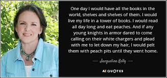 TOP 16 QUOTES BY JACQUELINE KELLY | A-Z Quotes