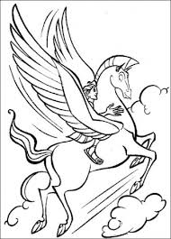 Hercules Paard Van Hercules Kleurplaten