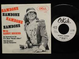 popsike.com - RARE Sandy Becker/Red Saunders Hambone NY 45 PS Link Wray  Rumble Mambo OKEH - auction details