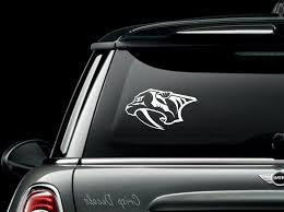 Nashville Predators Nhl Decal Window Decal Car Decal