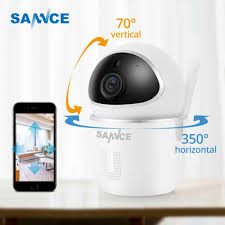 Sannce Nhà Camera IP An Ninh Wifi 1080P Camera Mạng Không Dây Camera Quan Sát  Camera Giám Sát Ban Đêm Trẻ Em Cam|