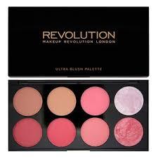 revolution ultra blush palette sugar