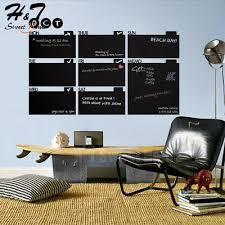 Memo Blackboard Weekly Calendar Planner Chalkboard Wall Decal Sticker Sd3