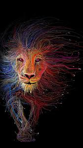 colorful lion wallpapers on wallpaperplay