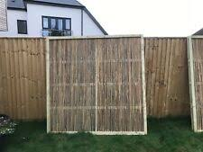 Bamboo Cane Framed Fence Panel 6ft X 6ft Garden Screening Fencing Wooden Wood For Sale Online Ebay