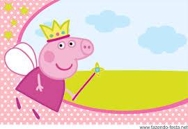 Convite Peppa Pig 4 Png 1772 1224 Invitaciones De Cumpleanos