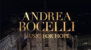 Andrea Bocelli: concerto di Pasqua in streaming dal Duomo di ...