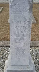 Lucinda Adeline <i>Anderson</i> Hayes | Adeline, Hayes, Pillar candles