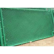 Green Mild Steel Pvc Coated Fencing Wire Mesh Rs 19 Square Feet Jay Matadi Industries Id 21367656248