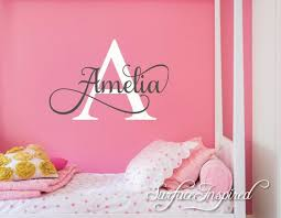Nursery Wall Decal Personalized Names Wall Decals For Kids Amelia Style Nursery Wall Decals Childrens Wall Decals Kids Wall Decals