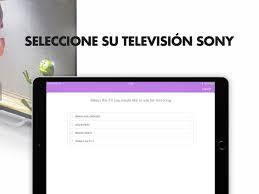 mirror para sony smart tv en app