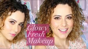 glowy fresh no makeup makeup tutorial