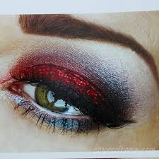 4th of july eye makeup designs