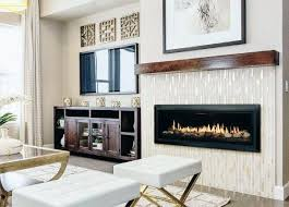 top 60 best linear fireplace ideas