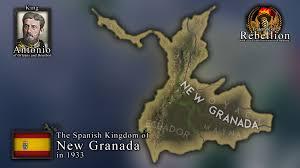 The Spanish Kingdom of New Granada in 1933! | Fraternité en Rébellion :  FdRmod