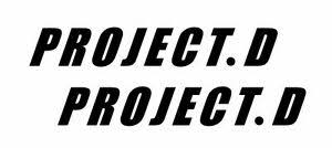 Project D Initial D Jdm Racing Sticker Vinyl Decal Car Window Doors Bumper Ebay