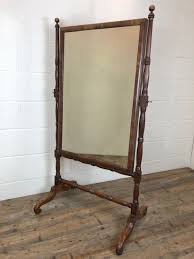 victorian mahogany cheval mirror m