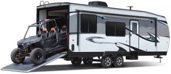 what is a toy hauler rv toy haulers