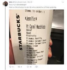 starbucks horror drinks baristas share