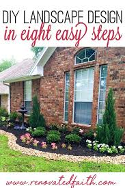 simple front yard landscaping ideas on