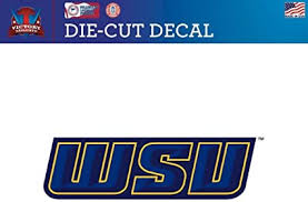 Victory Tailgate Grand Valley State University Lakers Die Cut Vinyl Decal Logo 2 Wall Decals