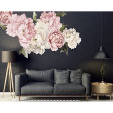 Shop 20 Piece Peonies Wall Decal Set On Sale Overstock 30920386