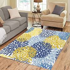 pinbeam area rug blue pattern abstract