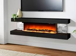 wall mount electric fireplace wall