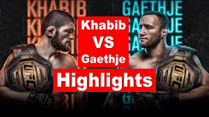 Khabib vs Justin Gaethje Highlights HD ...