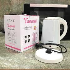 Ấm đun siêu tốc Yuemei 1 lít 8 hàng Thái Lan cao cấp