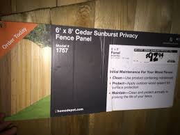 New Never Used 6 X 8 Western Red Cedar Fence Panels For Sale In Spanaway Wa Offerup