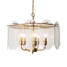 pendant lighting with clear glass shade