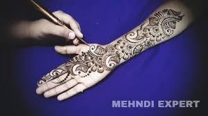 unique mehndi design full hand