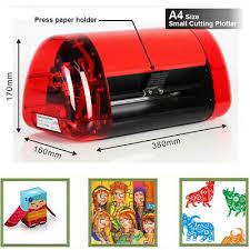 Mini Sticker Cutter A4 Vinyl Cutter Plotter Cutting Machine Contour Cut Function Ebay