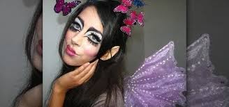 whimsical fairy makeup look
