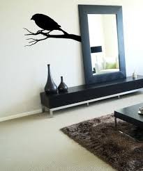 Vinyl Wall Decal Sticker Crow On A Branch Os Mb650 Stickerbrand