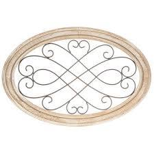 oval scroll metal wall decor hobby
