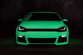 Vvivid 3mil 2ft X 5ft Green Glow In The Dark Vinyl Vehicle Wrapping Decal Ushirika Coop