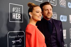 Olivia Wilde and Jason Sudeikis at the ...