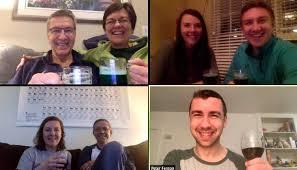 Happy Hour Goes Online as Coronavirus Forces Everyone Inside - WSJ