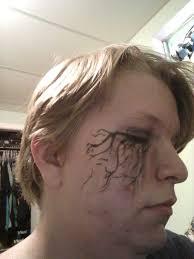 creepy ryan ross makeup panic at the